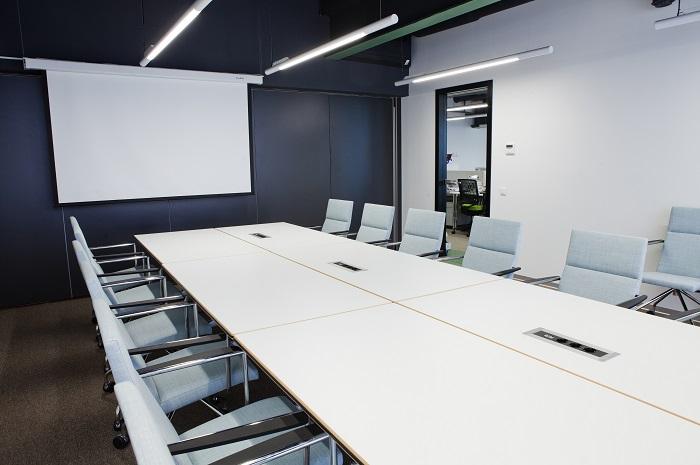 Трансформируемые перегородки в офисе компании Paulig