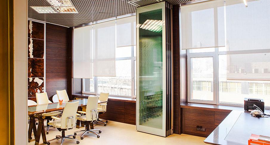 Звукоизоляционные стеклянные системы перегородок
