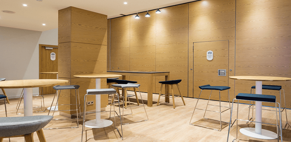 Трансформируемые перегородки Smart Wall в Holiday Inn