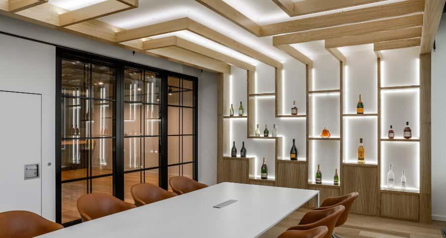 Звукоизоляционные стеклянные перегородки для офисов