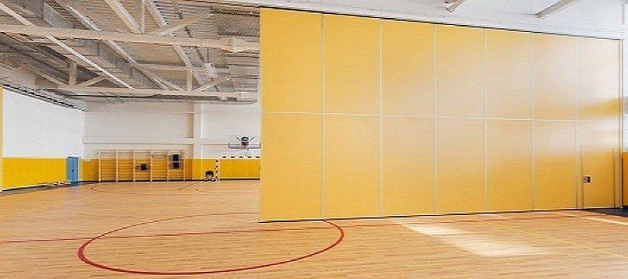 Перегородки для спортивных залов